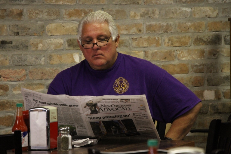 The owner of Serio's Po Boys and Deli (let's call him Serio)