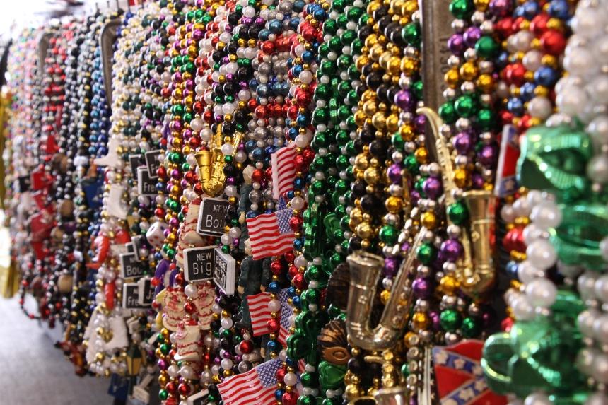 Beads, beads, everywhere