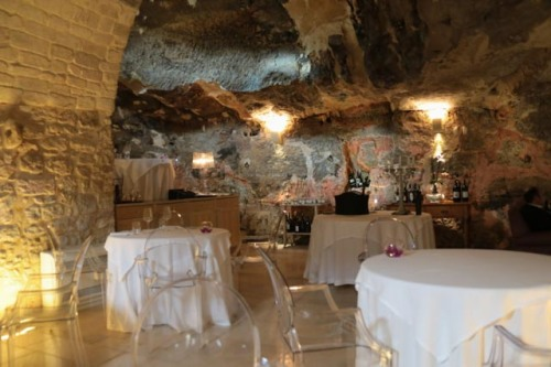 Is it a cave or is it a restaurant?