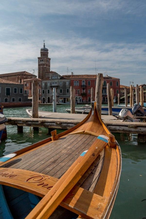Boat in Murano