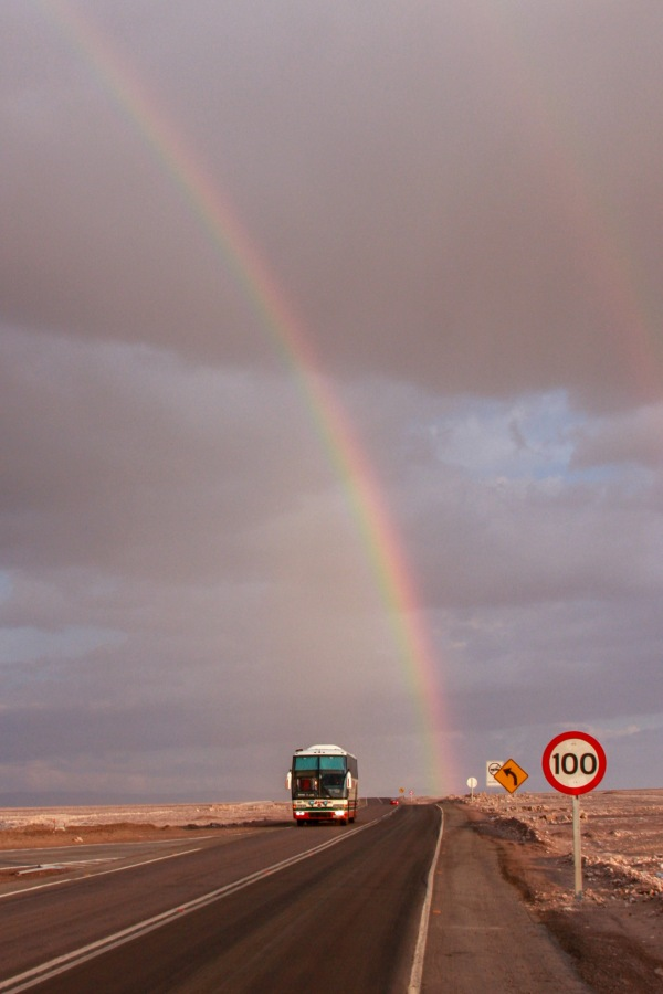 Rainbow in Atacama