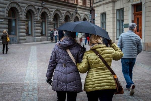 Rain in Stockholm