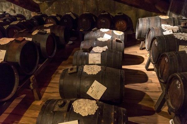 Aceto balsamico barrels
