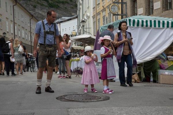 Family in Salzburg