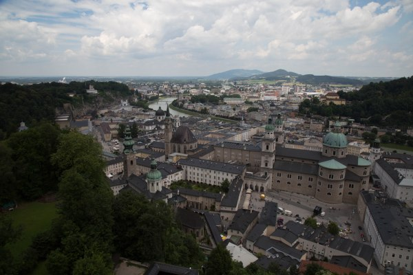 View from Salzburg Castle