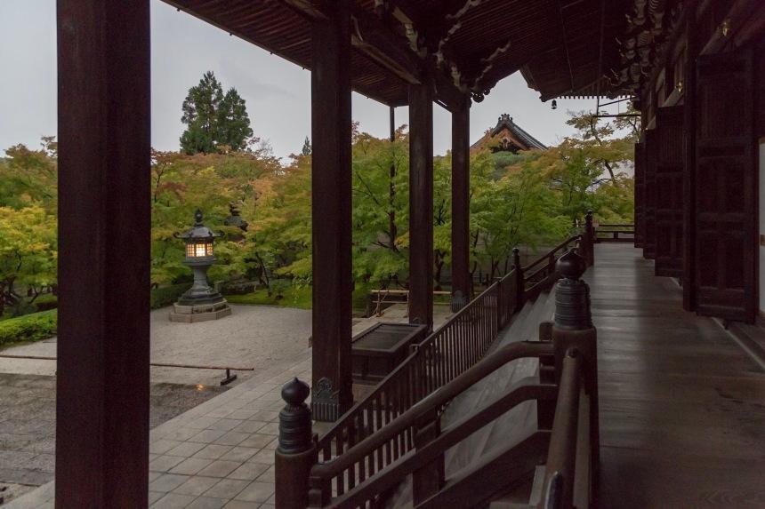 Eikando Temple zen garden