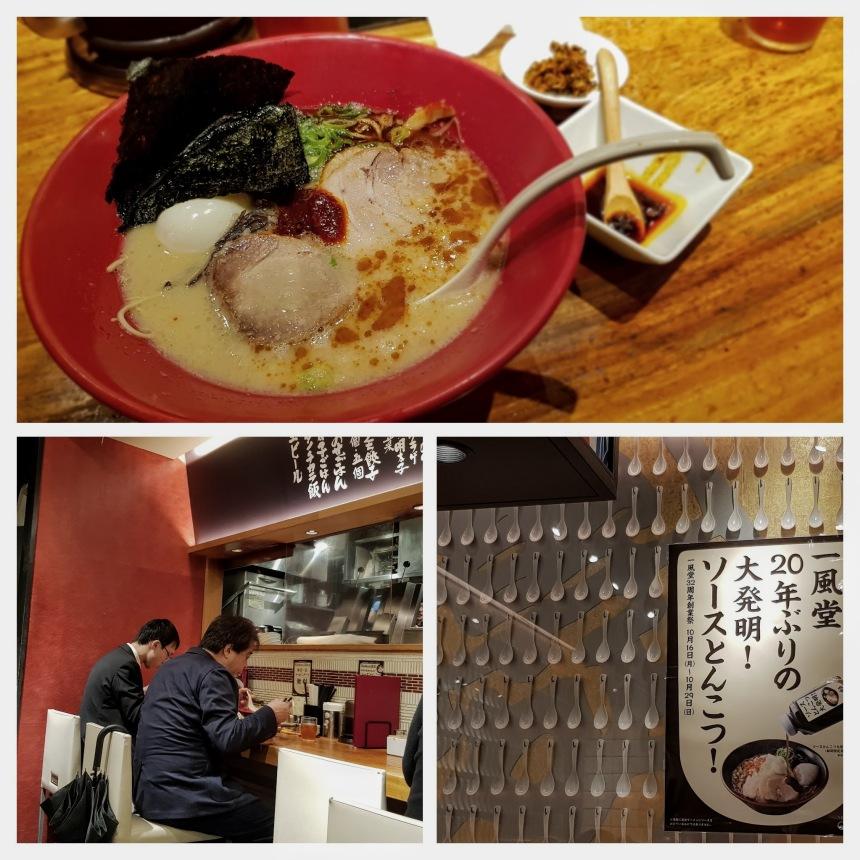 Ippudo Ramen at Ginza