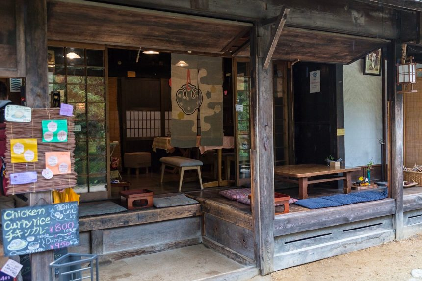 Traditional restaurant in Tsumago