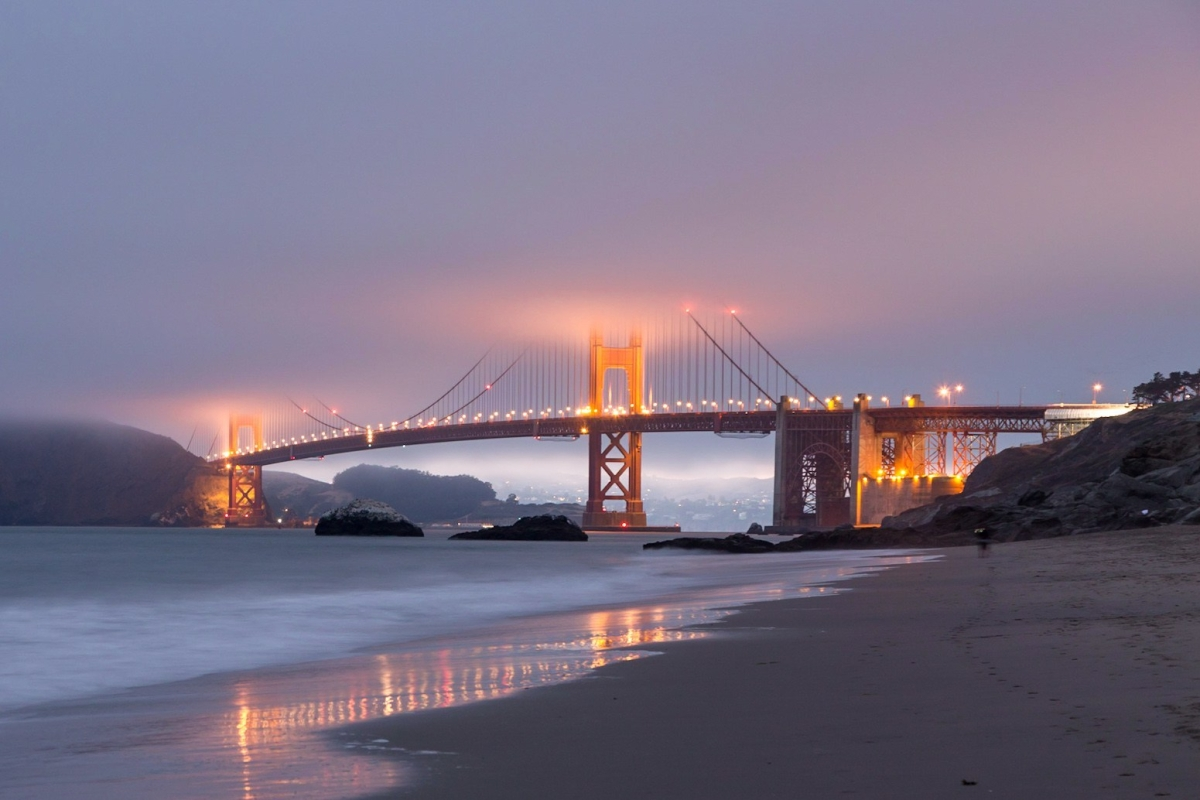Top night photography spots in San Francisco